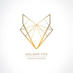Golden Fox Logo Design - download here: http://luvly.co/items/5294/Golden-Fox-Logo-Design