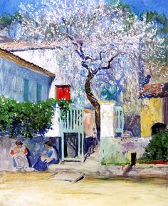 Guy Orlando Rose - Spring on the Riviera