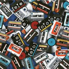 This All Amped Up fabric by Dan Morris for @rjrfabrics is a great throwback today! Who remembers this way to listen to music?  #quiltwithlove #music #cassette #tunes #musician #record #records #tbt #tape #quilt #quilts #quilting #sew #sewing #craft #crafting #diy #fabric #crafts #patchwork #quilter #stitch #cotton #decor #homedecor #apparel #fashion #creativity #creative