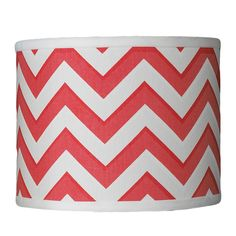 10 Inch Chevron Drum Shade