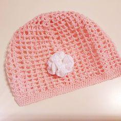 Летняя милая розовая шапочка завтра едет к своей принцессе :))) #вязаниекрючком #вязаниеспицами #вязаниедлядетей #вязание #вязанныеигрушки…