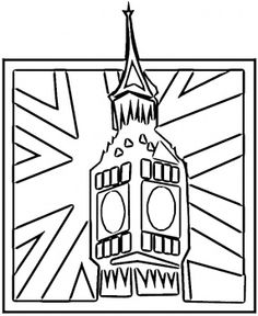 Flag Of Great Britain England United Kingdom Flag Coloring Page You Have All 195