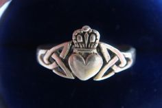 Claddagh Ring by QuinlansCove on Etsy,