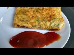 Bread Omelette | Street Style | Street Food - YouTube
