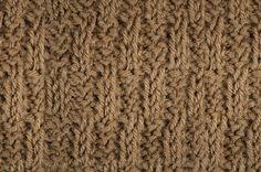 My Tunisian Crochet: Pillar Basketweave