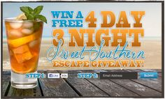 I Just Pinned to win a 4 day 3 night stay courtesy of Myrtle Beach Resort. Pin to enter, and several more ways to increase your chances to win!