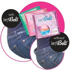 A thin, strong and flexible clear plastic belt, that virtually disappears when worn, providing you with the assurance that all is secure without even knowing it's there. isABelt prevents back gap, slippage and of course, belt bulk and buckle bulge. The isABelt solves all of these fashion issues and many more. The isABelt is a functional fashion invention that fixes a difficult problem with a simple solution. This belt is fully adjustable and sure to fit. A great accessory for everyone!