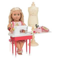 Our Generation Deluxe Accessory - Dressmaking Set : Target