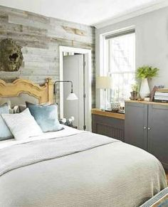 In your bedroom, use a shallow cabinet as a mini wardrobe: It's less bulky than an armoire and can h... - Mike Garten