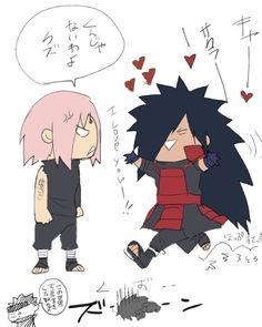 MadaSaku Madara & Sakura