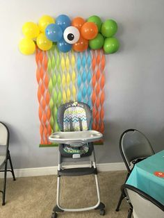 Little monster Birthday Party Ideas Photo 1 of 23 Catch My Party Boys First Birthday Party Ideas, Birthday Themes For Boys, Adult Birthday Party, Baby 1st Birthday, Birthday Decorations, Monster Decorations, Card Birthday, Birthday Quotes, Birthday Celebration