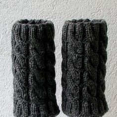 Knit Boot Socks Women's Knit Accessory Boot by AlbadoFashion, $29.00