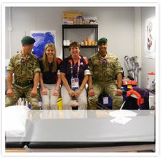 Physio and forces - London 2012