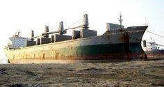 This is a bulk carrier was waiting to be scrapped and the hatches where open. Fallout Rpg, Ship Breaking, Merchant Marine, Shipwreck, Paddle, Abandoned, The Past, Ships, Luigi