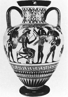 Black-figure amphora in Florence (3845)