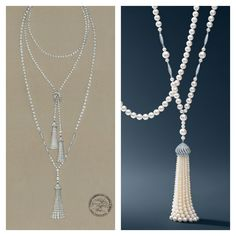 The Great Gatsby (2013) | Pearls by Tiffany & Co. with Catherine Martin for Baz Luhrmann's Gatsby