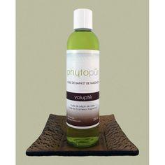 HUILE DE BAIN ET DE MASSAGE VOLUPTÉ -  Nourrissez votre peau avec notre nouvelle huile de bain et de massage aux vitamines A, B, et E. Cette huile hydratante laissera sur votre corps un délicat parfum très sensuel. http://savondescantons.com/fr/soin-phytopur/60634-huile-de-bain-et-de-massage-volupte.html