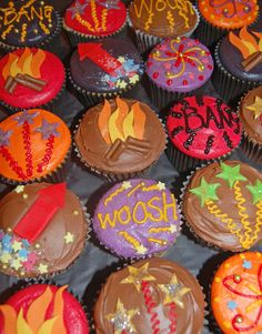 We love these cupcakes...  Buy ingredients with Booker: http://www.pta.co.uk/fundraising/seasonal-ideas/summer-fair-savings-with-booker.aspx