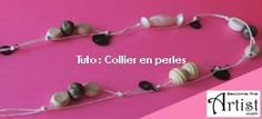 Tuto Collier en Perles DIY BecomeTheArtist.com