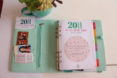 - Day Per Page Refill Calendar Only - 2015 Planner Insert Refills for Filofax - DOTTY Design Bright Colorful 2015 Planner, Work Planner, Weekly Planner, Memory Journal, Book Journal, Bullet Journal, Organizing Paperwork, Life Organization, Planning And Organizing