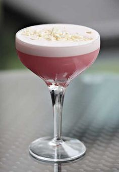 The Pink Panther  - Vodka cocktails: Easy cocktail recipes with vodka
