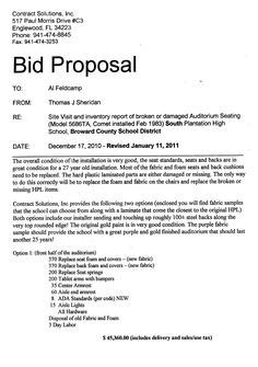 Bid Proposal Letter Interesting Bid Forms Proposal Template  Whiteboard Pictures  Pinterest .