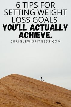 Setting weight loss goals is one of the best ways to guarantee your success.Yes, you did read that right - guarantee your success.But, here's the funny thing about setting weight loss goals…..