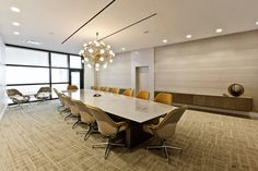 Flow Conference Table   Orion Jet Center   MONIOMI Design   Robert Rios Photography