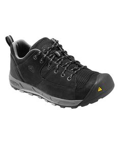Take a look at the Black & Drizzle Wichita Leather All-Terrain Shoe on #zulily today!