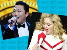 """Madonna flew South Korean sensation Psy in on Tuesday night to jam with her on """"Gangnam Style"""" during her second Madison Square Garden show."""