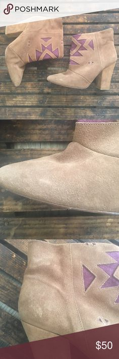 Anthro Ankle Boots Howsty Very gently worn 2-3 times Anthropologie Shoes