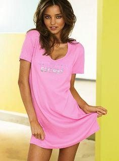Signature Cotton Scoopneck Sleepshirt #VictoriasSecret http://www.victoriassecret.com/sleepwear/sleepwear/scoopneck-sleepshirt-signature-cotton?ProductID=49885=OLS?cm_mmc=pinterest-_-product-_-x-_-x