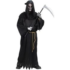 Reaper Adult Halloween Costume - One Size