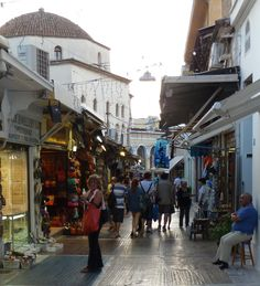 "#Plaka,  (the age old "" #Neighborhood OfTheGods ) is a labryinth of cool shops and tavernas, all in the shadow of the #Acropolis #CoolGreece #FavoriteAthensPlaka Archaeologous.com can assist with your questions."