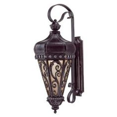 Savoy House 5-233-59 Alita 3 Light Outdoor Wall Light in Distressed Bronze with Tuscan glass - Amazon.com