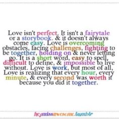 A few words about love!