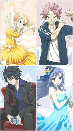 NALU,gruvia,gale,and jerza forever by nalulover16 on DeviantArt