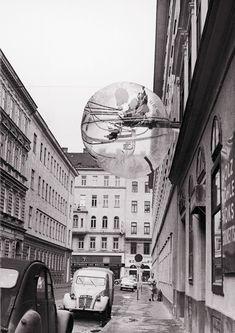 Ballon für Zwei, 1967. Image courtesy Ortner & Ortner Baukunst