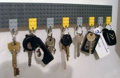 You Can Make A Key Holder From LEGO