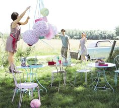 Outdoors party