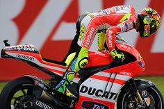Valentino Rossi, Ducati Team in Moto GP Malaysia 2011 by Thananuwat Srirasant, via Flickr