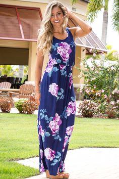 Vacay Ready Floral Maxi Dress
