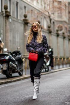 Cele mai stylish ținute de la Milano Fashion Week  | Milan Fashion Week Street Style