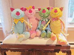 (7) Name: 'Quilting : Cool Cat Pajama Bag