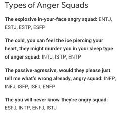 im not sure what i'm like angry... although ENFJ, which is Ryn is fairly accurate, past a point they go ballistic.