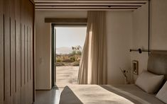 K studio blends its villa mandra into the mykonos horizon House, Home, Building A House, Home Remodeling, House Built, Villa, House Interior, Luxury Accommodation, Summer Living