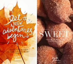 "Life is indeed, Sweet! Awesome Fall Screen Savers for cell phone! Tem até ""Bolinho de Chuva""!..  ""Words Wednesday"" – Welcome Fall! 