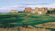 Welcome to St Andrews Links, the Home of Golf. With seven golf courses, we are the largest public golf complex in Europe. Famous Golf Courses, Public Golf Courses, St Andrews Scotland, Golf Painting, St Andrews Golf, Coeur D Alene Resort, Augusta Golf, Golf Course Reviews, Golf Art