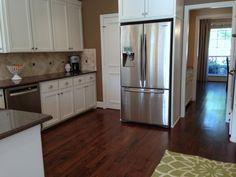 Kitchen Remodel: Before & After Kitchen Cabinet Color Schemes, Kitchen Cabinets, Kitchen Appliances, Kitchens, Kitchen Remodel Before And After, French Door Refrigerator, Repurposed, Interior Design, Furniture