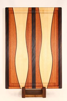 Macassar Ebony Tahitian Rosewood and Hickory by BlueMtnWoodworks, $180.00